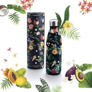 BOTTIGLIA THERMOS 500ML DECORATA HAWAI