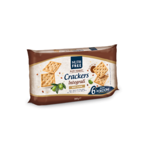CRACKERS INTEGRALI NUTRIFREE