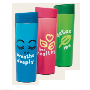 THERMOS CLICK AND DRINK 360 ML VARI COLORI CON SCATOLA